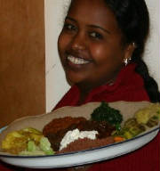 Delicious Ethiopian Food